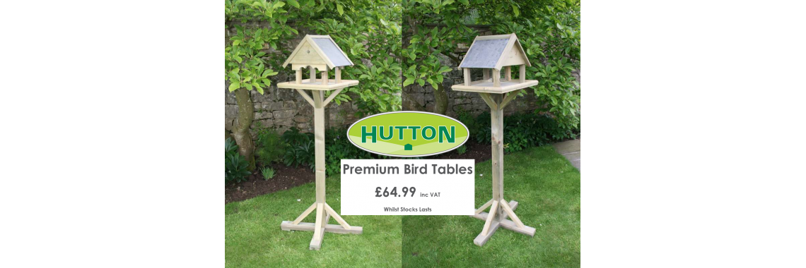 Hutton Premium Bird Tables