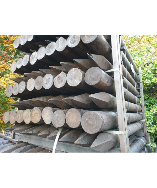 Round Timber Creosoted (24)