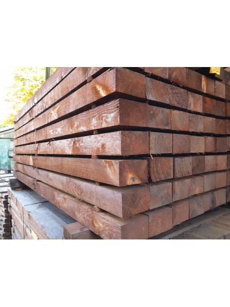 1.8m Sawn Treated Creosote 125 x 75mm - Blunt Both Ends
