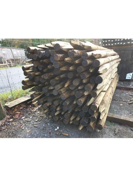 1.65m Economy Round Timber - Treated (50-75mm)