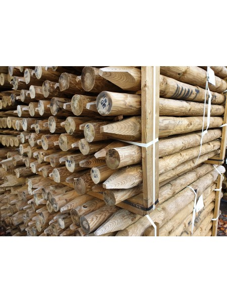 1.65m 15 Year Service Life Round Timber -Treated (75-100mm)