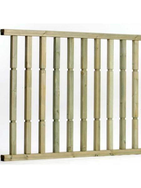 Contemporary Pre Made Balustrade 1.8m x 985mm