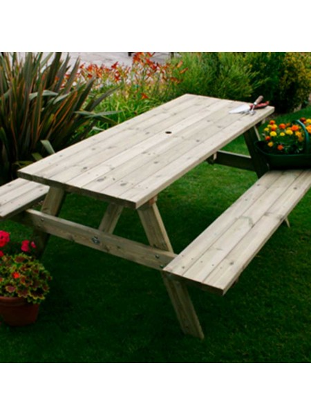 Hutton A Frame Table 6 Seater