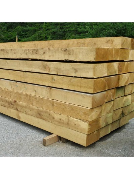 Sleepers (New) 2.40m 240 x 120mm (Sawn Treated)