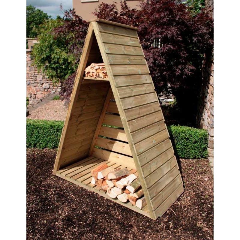 Hutton Triangular Log Store