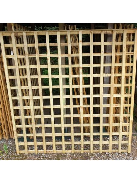 Square Trellis ( Green )  6x1