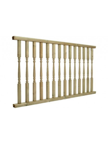 Colonial Pre Made Balustrade 1.8m x 985mm
