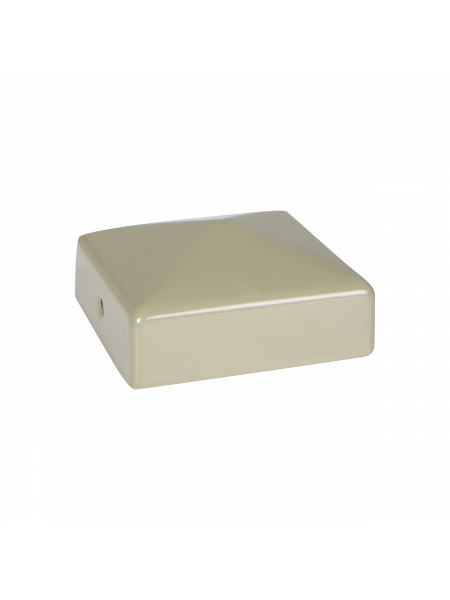 FENCEMATE DuraPost® Cap with Bracket - Olive Grey
