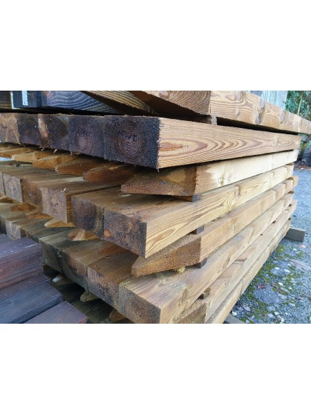 1.8m Sawn Treated 125 x 75mm Pointed - 15 Year Service Life