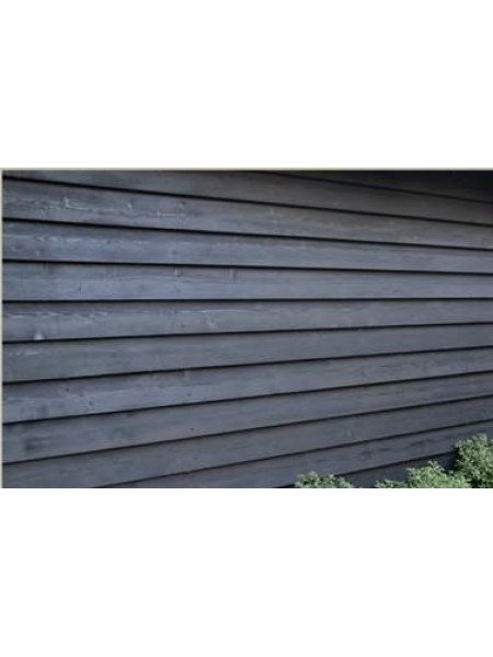 Black Feather Edge Double Painted 4.8m 175 x ex32mm