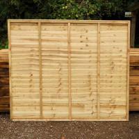 Panel Super Waney (Green) 6x6