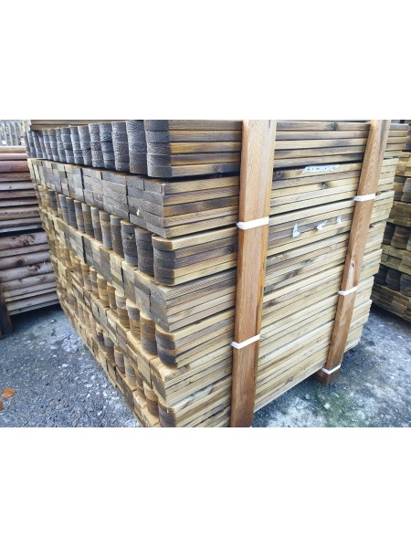 1.20m PAR Treated ex75 x 22mm - Round Top
