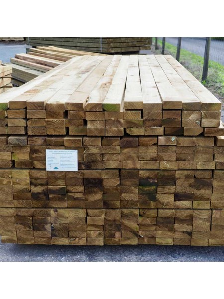 2.40m Sawn Treated 87 x 38mm