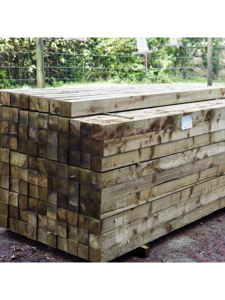 2.40m Sawn Treated 100 x 100mm