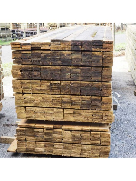 3.60m Sawn Treated 100 x 22mm