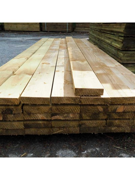3.60m Sawn Treated 150 x 38mm