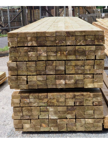 3.60m Sawn Treated 100 x 47mm
