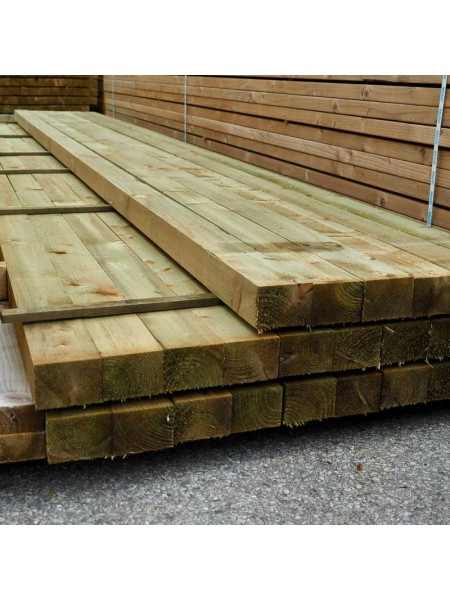 4.80m Sawn Treated 100 x 75mm
