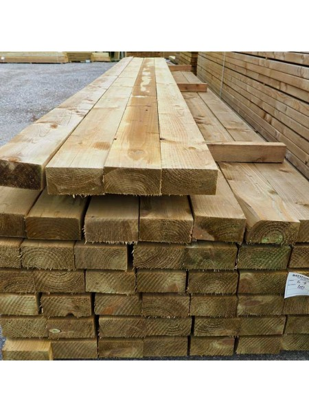 4.80m Sawn Treated 150 x 75mm