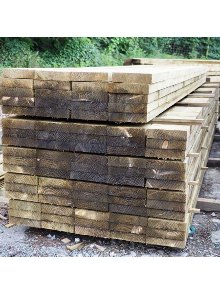 4.80m Sawn Treated 200 x 47mm