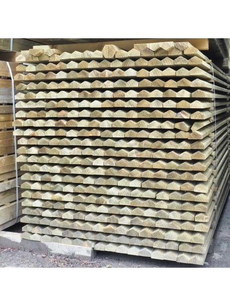 3.00m | Capping Rail Treated | 65 x 38mm - 2 Way Weather