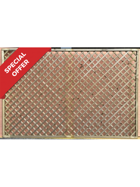 Diamond Lattice Trellis 1.2m x 1.8m