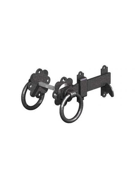 Ring Latch 150mm - Black