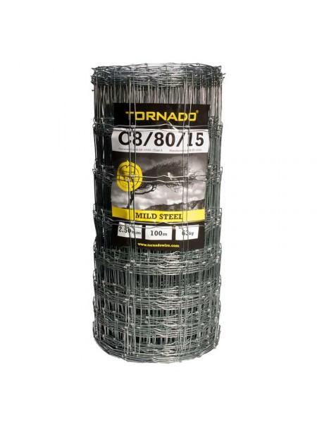 C 8 / 80 / 15 x 100m Tornado Stock Net