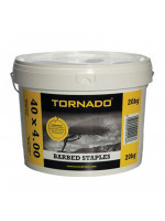 Barbed Staples 40 x 4.00mm - 20kg