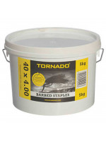 Barbed Staples 40 x 4.00mm - 5Kg