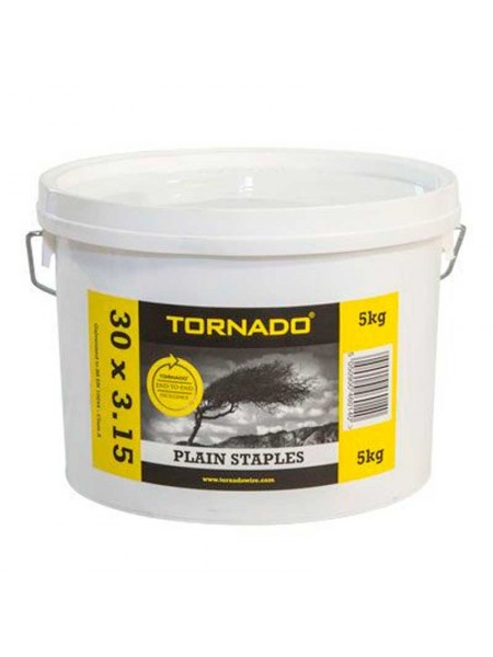 Plain Staples 30 x 3.15mm - 5Kg