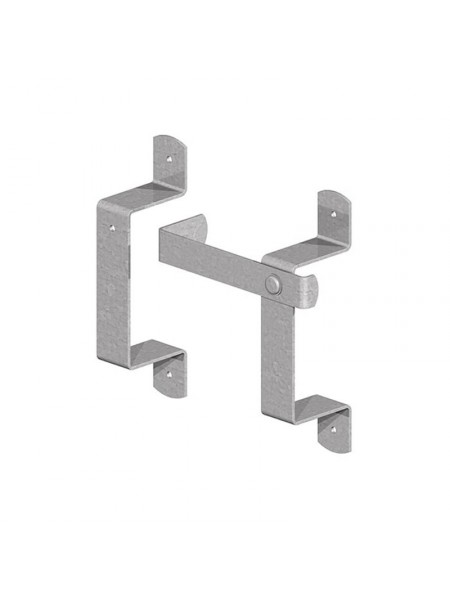 Slip Rail Bracket Set - Galvanised