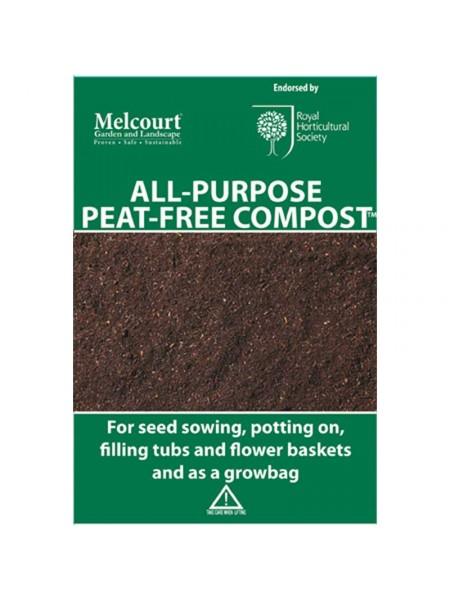 Melcourt All-Purpose Peat Free Compost 50Ltr