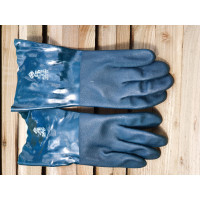 Gloves Double Dipped PVC Fully Coated Gauntlets (Long)