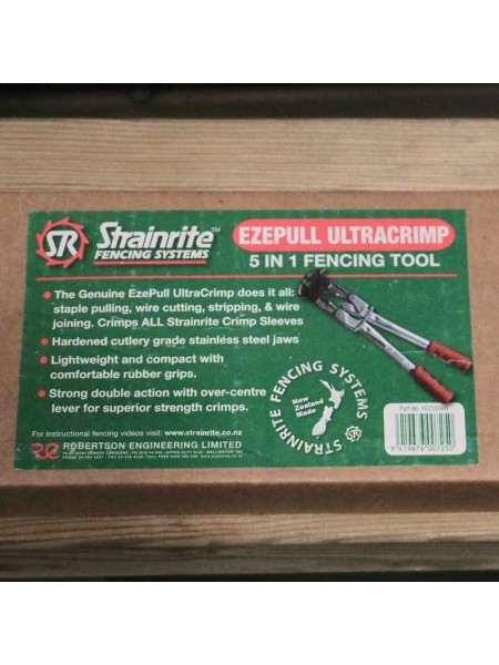 Strainrite Ultracrimp Ezepull Tool 5 in 1