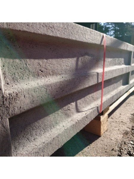 Semi Dry Recessed Concrete Gravel Board 1.83m 150 x 50mm