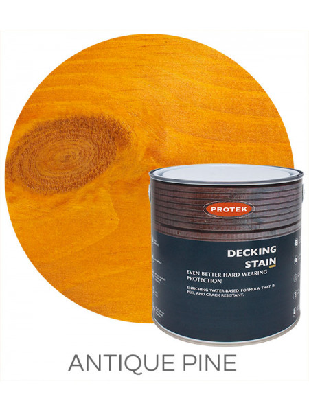 Protek Decking Stain Antique Pine 2.5L