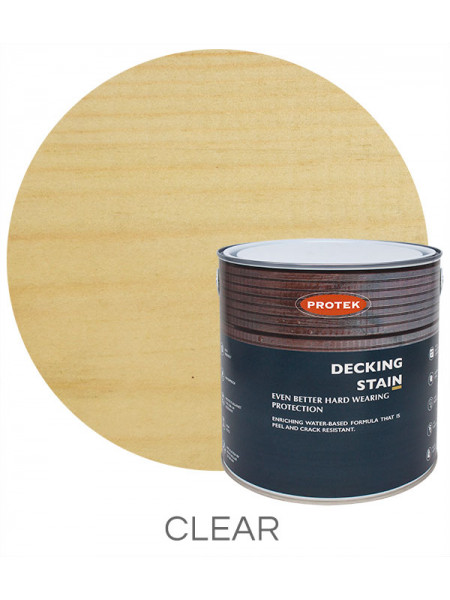 Protek Decking Stain Clear 2.5L