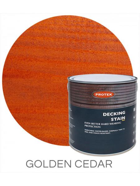Protek Decking Stain Golden Cedar 2.5L