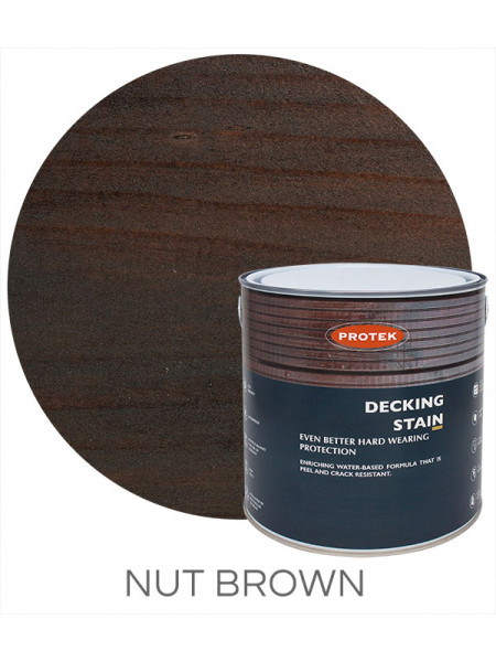 Protek Decking Stain Nut Brown 2.5L