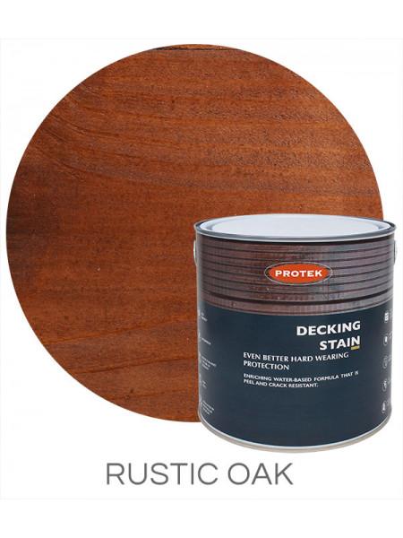 Protek Decking Stain Rustic Oak 2.5L