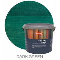 Protek Shed & Fence Dark Green 5L