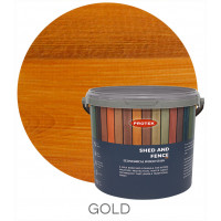 Protek Shed & Fence Gold 5L