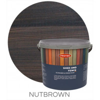 Protek Shed & Fence Nut Brown 5L