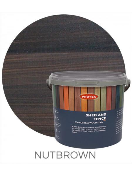 Protek Shed & Fence Nut Brown 5L