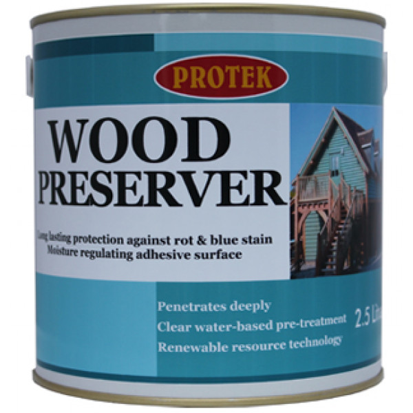 Protek Wood Preserver Clear 1L